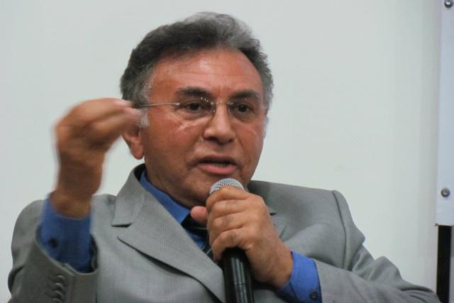 Juiz federal Odilon de Oliveira participou do evento em Campo Grande. - Crédito: Foto: Elvio Lopes