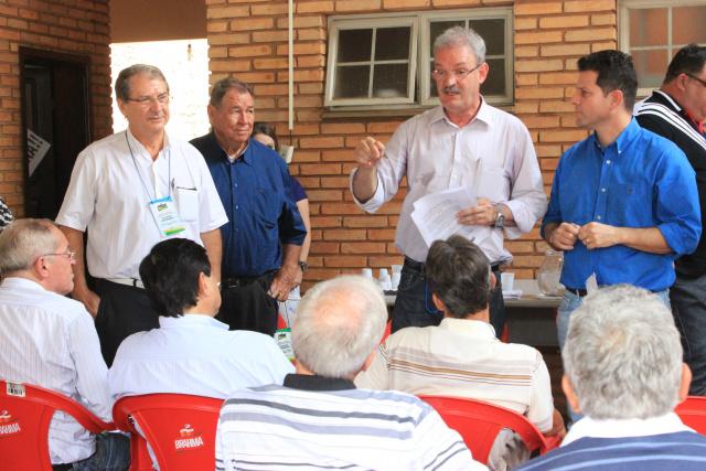 Membros do Diretório do PMDB voltam a se reunir hoje em Dourados. - Crédito: Foto: Walter Ramos