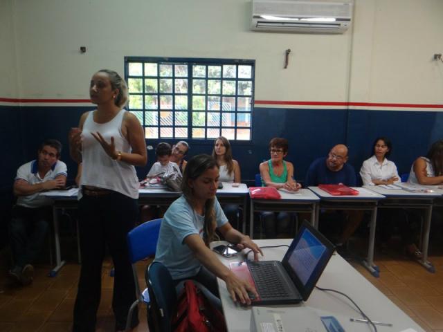 Equipe do Projeto realizou uma série de atividades para mobilizar a comunidade escolar. - Crédito: Foto: Hudson Lauro