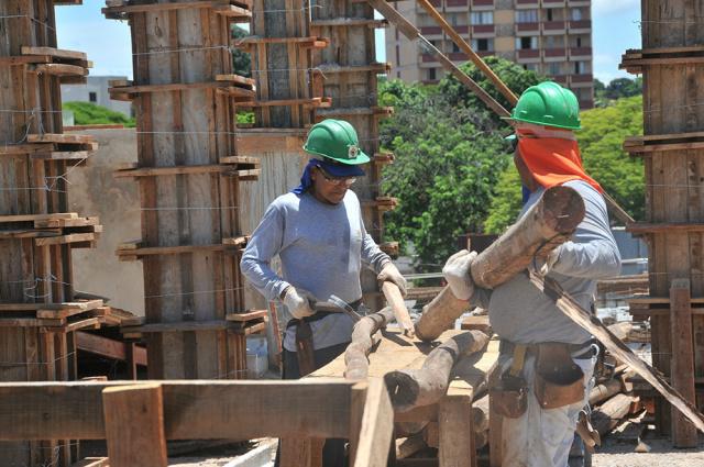 Segmento que apresentou o maior saldo de contratação em janeiro foi a indústria da construção - Crédito: Foto: Divulgação/FIEMS
