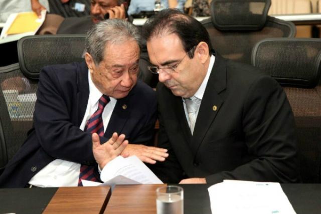 Deputados George Takimoto e Felipe Orro podem ingressar no PSDB de Reinaldo Azambuja. - Crédito: Foto: Divulgação