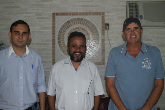 Membros do PMB Anderson Nunes, Josafá - Crédito: Foto: Homero Torres