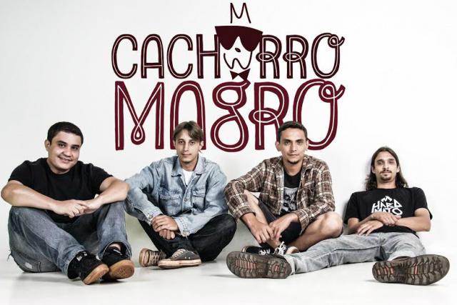 Banda Cachorro Magro é formada por Gracindo Ramos - Crédito: Foto: Sandro Bueno
