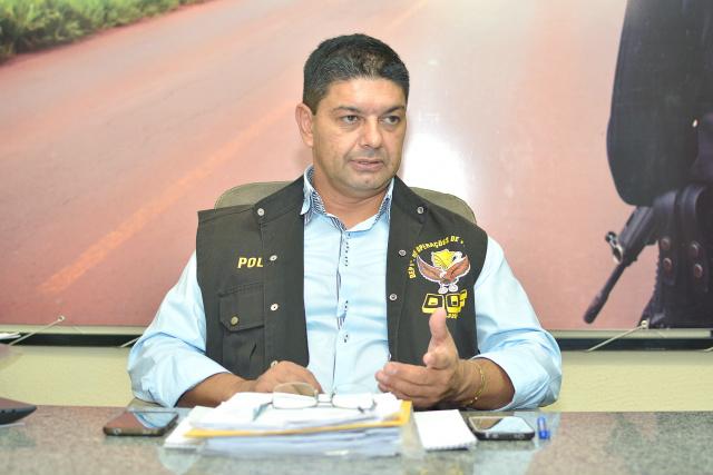 Coronel do DOF, Ary Carlos Barbosa, diz que leis ainda são brandas para o contrabando. - Crédito: Foto: Marcos Ribeiro
