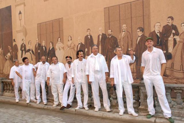 Grupo Acaba, que está preparando disco com 50 músicas para comemorar meio século de atividade na cultura sul-mato-grossense. - Crédito: Foto: Arquivo