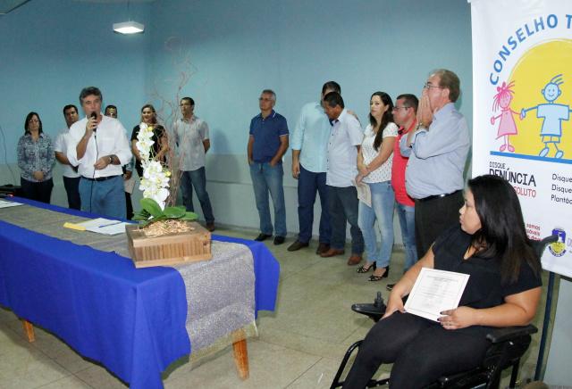 A solenidade de posse aconteceu no Cras do Jardim Água Boa. - Crédito: Foto: Chico Leite