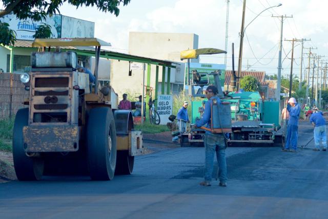 Pavimentação asfáltica foi concluída segunda-feira - Crédito: Foto: Ribero Júnior