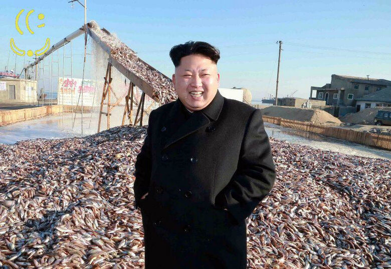 Coreia do Norte lança míssil antiaéreo ao mar. - Crédito: Foto: Divulgação