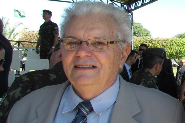 Hildebrando Campestrini  preside o Instituto Histórico e Geográfico de Mato Grosso do Sul. - Crédito: Foto: Elvio Lopes