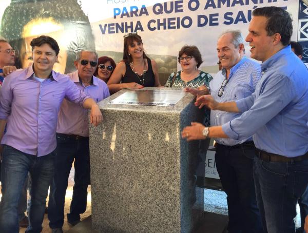 Lançada pedra fundamental do Hospital da Cassems de Corumbá. - Crédito: Foto: Divulgação