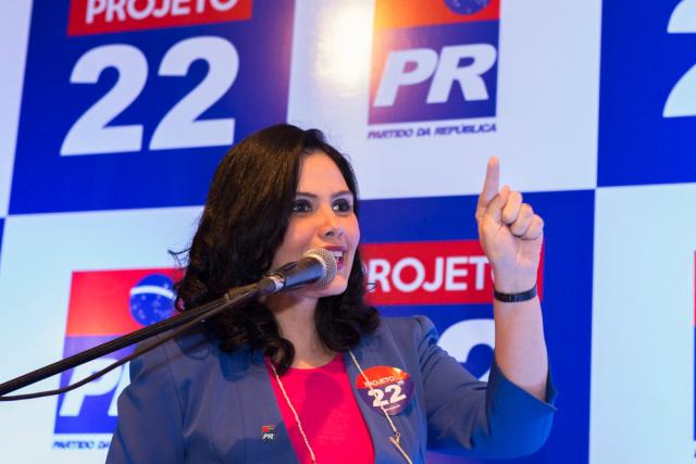 Deputada Grazielle Machado destaca a importância do Projeto 22. - Crédito: Foto: Divulgação