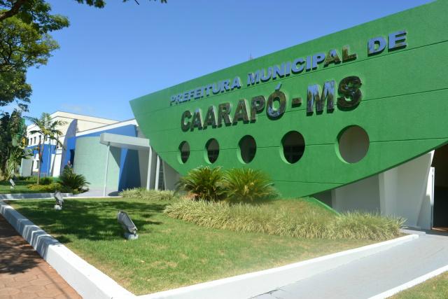 Prefeitura de Caarapó  prorroga prazo às inscrições do concurso. - Crédito: Foto: Assessoria