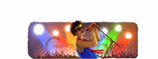 """Google faz homenagem ao poeta """"exagerado"""", Cazuza - Crédito: Foto: Google/Divulgação"""