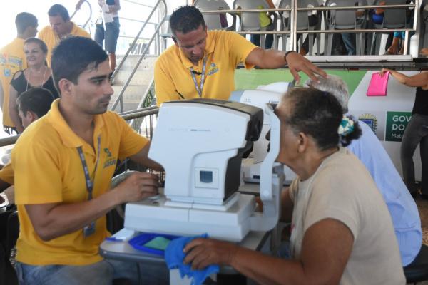 Caravana da Saúde já fez mais de 200 mil atendimentos nas últimas caravanas. -
