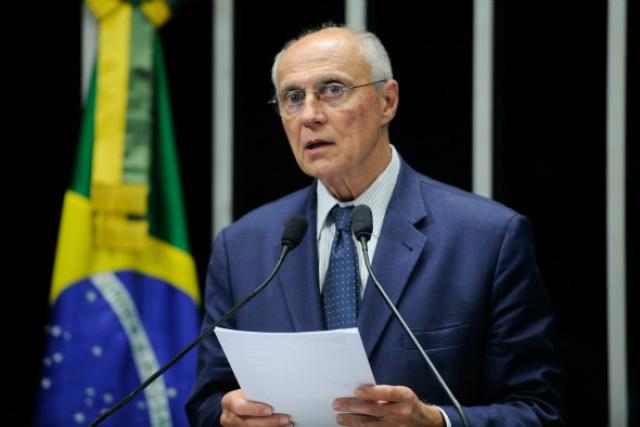 Secretário de Direitos Humanos de SP e ex-senador Eduardo Suplicy. - Crédito: Foto: Divulgação