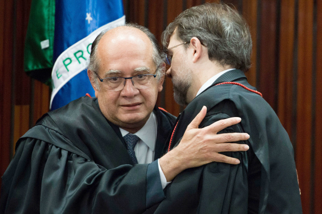 Ministro Gilmar Mendes vai substituir o ministro Dias Toffoli na presidência do TSE. - Crédito: Foto: José Dias/Agência Brasil