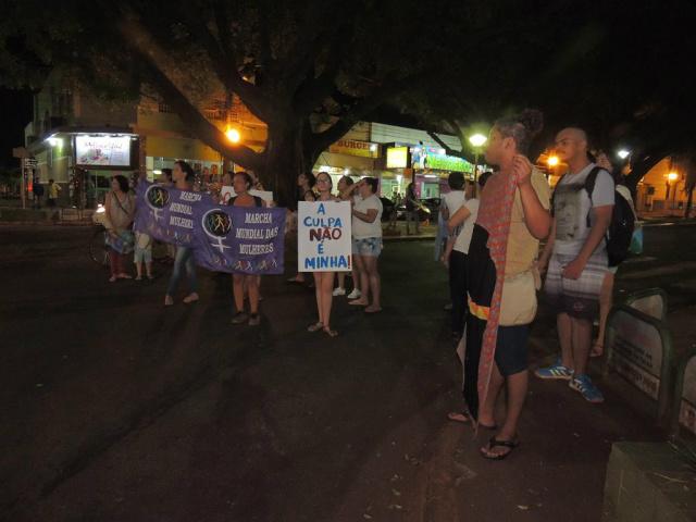 População luta contra o machismo e pede um caso mais amplo sobre o ocorrido na Universidade. - Crédito: Foto: Paola Ziolli