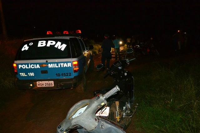 Homem morto  foi identificado como Reginaldo Romero. - Crédito: Foto: Ponta Porã informa