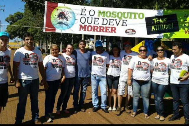 Agentes concluíram trabalho de visitação em 13.998 imóveis. - Crédito: Foto: Divulgação