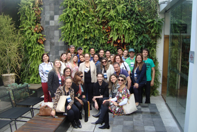 Empresários de Dourados e região durante edição passada do evento em missão técnica em SP. - Crédito: Foto: Divulgação