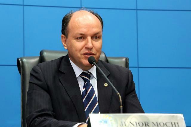 Júnior Mochi diz que o PMDB vai discutir o processo sucessório na Capital e nos municípios. - Crédito: Foto: Divulgação
