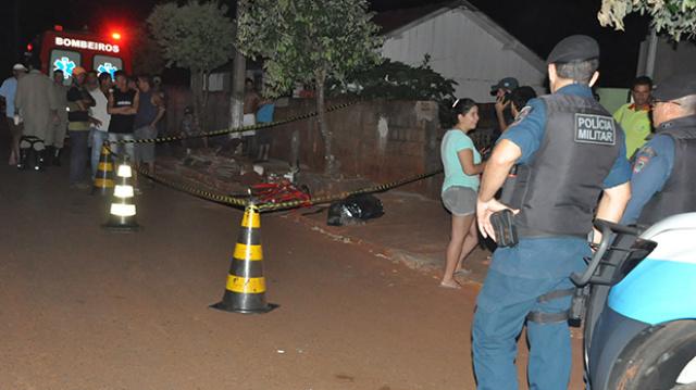 Cidinho pedreiro morreu antes da chegada do socorro Foto: Washington Lima/Fátima News  -