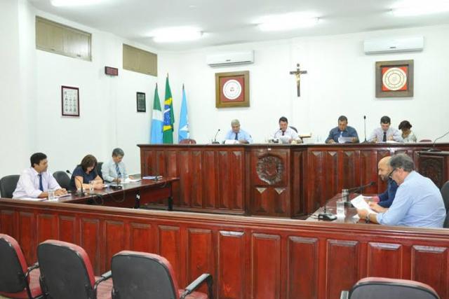 Ùltima sessão da Câmara de Laguna Carapã, aconteceu terça-feira, dia 12. - Crédito: Foto: Divulgação