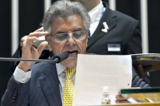 Na terça-feira, o relatório foi lido por quase quatro horas pelo 1º secretário da Câmara, Beto Mansur. - Crédito: Foto: Antônio Cruz/Agência Brasil