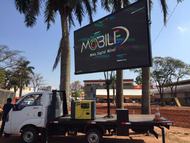 Aced vai disponibilizar um painel de LED na praça Antônio João. - Crédito: Foto: Assessoria Aced