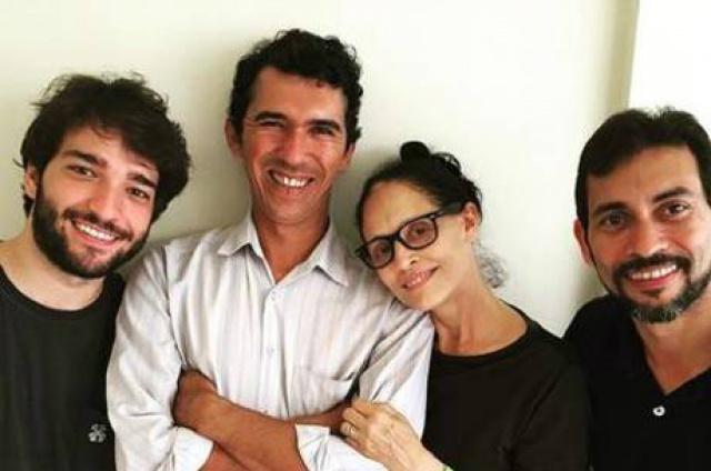 Equipe do filme brasileiro Aquarius. - Crédito: Foto: Divulgação/Instagram