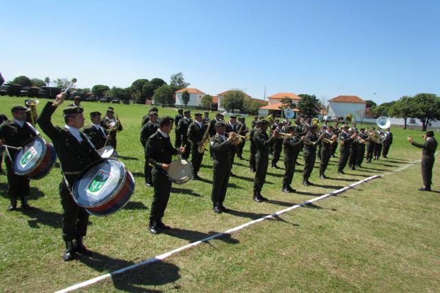 Banda de Música do CMO, que vai abrilhantar comemorações do Dia do Exército, sábado - Crédito: Foto: Elvio Lopes