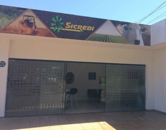 Sala comercial do Sicredi na Expogrande está lado do Tatersal de Elite. Evento segue até  dia 17 de abril. - Crédito: Foto: Divulgação