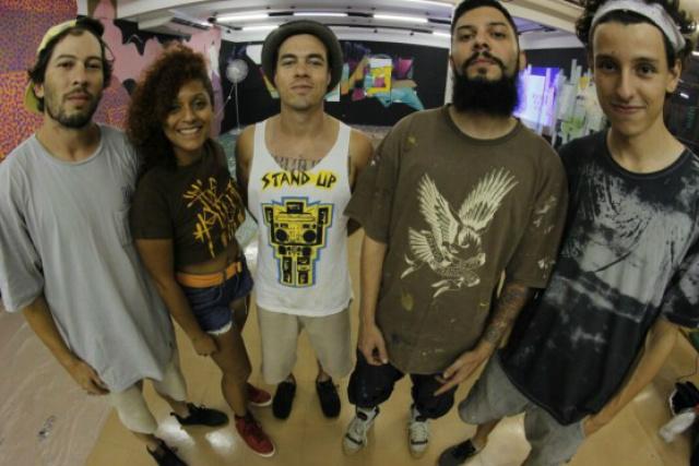 PIC  é um grupo de graffiteiros atuante há mais de cinco anos. - Crédito: Foto: Divulgação