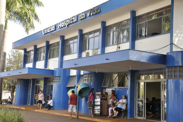 Hospital da Vida não tem área apropriada para receber pacientes com doenças infectocontagiosas. - Crédito: Foto: Hedio Fazan