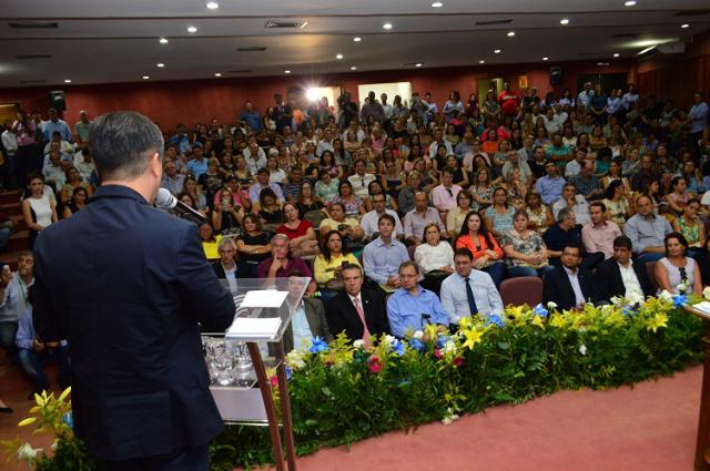 Evento reuniu 500 pessoas, entre  produtores, lideranças políticas, professores e profissionais do setor. - Crédito: Foto: Divulgação