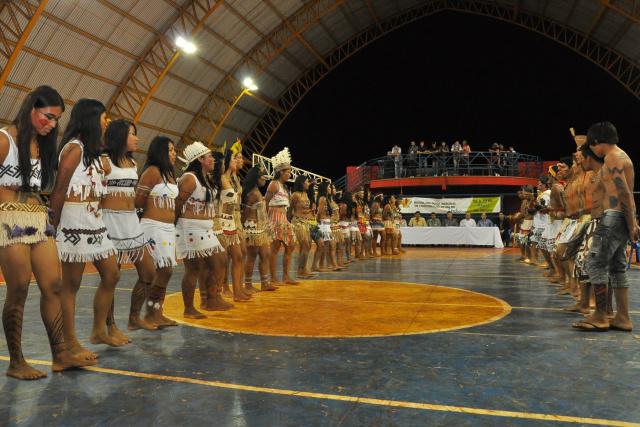 Comemoração do Dia do Índio será na Vila Olímpica Indígena, onde acontece várias ações esportivas e cultuais. - Crédito: Foto: Assecom