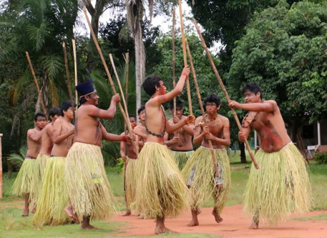 Realização da Semana Estadual e avanços para povos indígenas marcam o 19 de abril. - Crédito: Foto: Divulgação/Leca e Leomar Alves Rosa