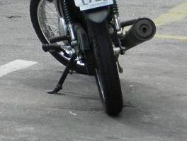 Motocicleta sem combustível desaparece em Dourados -