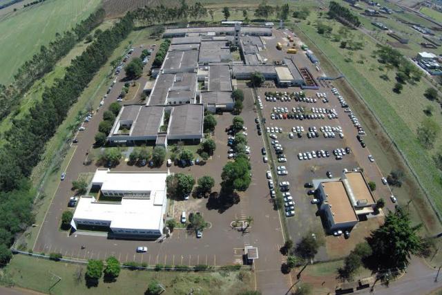 Foto mostra área doada pelo Governo do Estado para a construção do Instituto  da Mulher e da Criança que atender à crescente demanda da região. - Crédito: Foto: UFGD