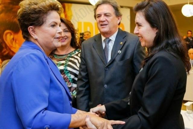 Senadores Moka e Simone deverão votar a favor do impeachment da presidente Dilma. - Crédito: Foto: Divulgação