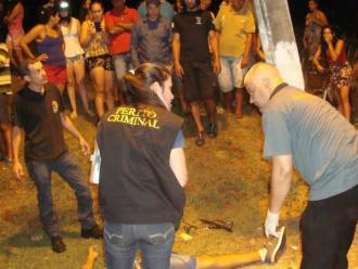 Acidente aconteceu na entrada do túnel do Parque das Nações II. Foto: Cido Costa -