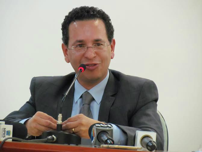 Novo procurador-Geral de Justiça Paulo Cezar dos Passos, já nomeado pelo governador Reinaldo Azambuja. Foto: Elvio Lopez -