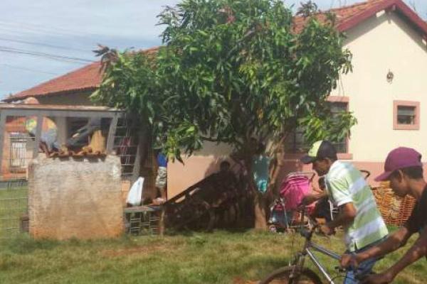O velório de Juliana é realizado no Centro Comunitário do Jardim das Hortências - Crédito: Foto: Norberto Liberator