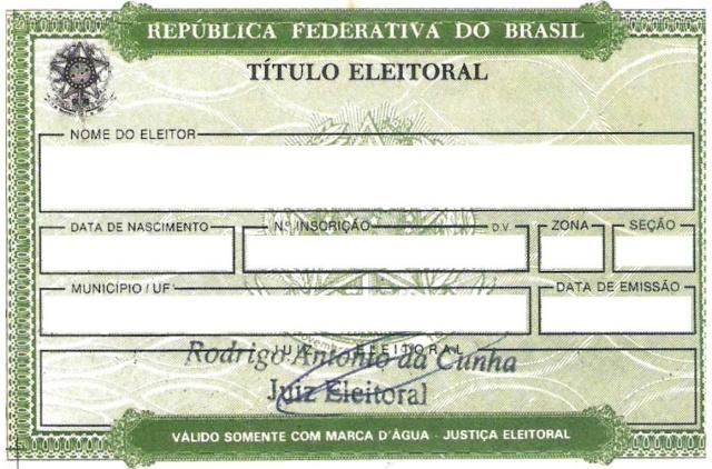 Prazo para retirar título de eleitor vai até 4 de maio. - Crédito: Foto: Divulgação