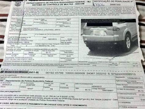Detran divulga lista de multa para mais de 15 mil condutores -
