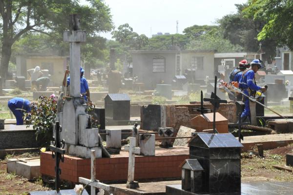 MP pede anulação de licitação de serviços funerários e instalação de novo cemitério, já que os de Dourados estariam lotados. -