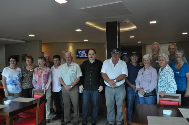 Rio Brilhante recebeu visita de um grupo de pecuaristas da Nova Zelândia que veio conhecer a produção agropecuária da Fazenda Campanha na cidade. - Crédito: Foto: Assessoria