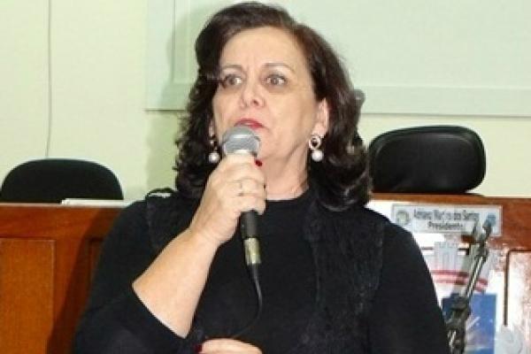 Vice Jacinta Cordeiro que assumiu o cargo nesta terça-feira. Foto: Divulgação -