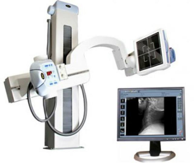 Aparelho de raio X digital. - Crédito: Foto: Divulgação