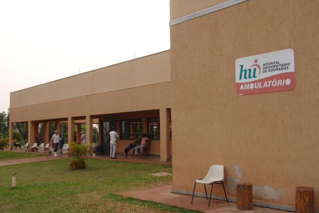 Hospital Universitário de Dourados enfrenta falta de insumos. - Crédito: Foto: Hedio Fazan